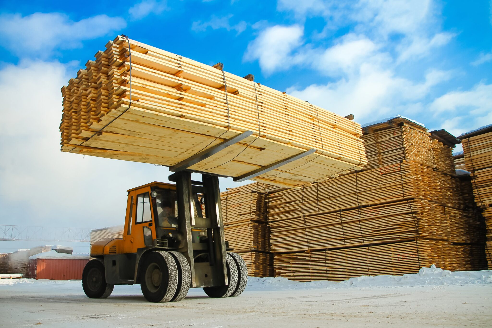 Lumber Prices Increase Over 170% since the COVID-19 Pandemic